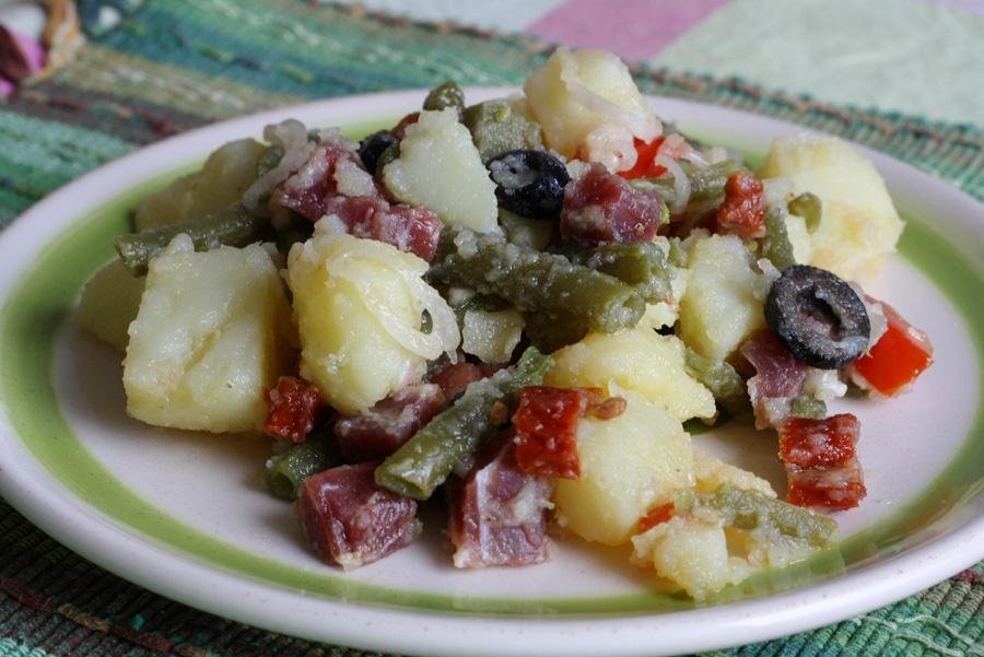 insalata fredda patate