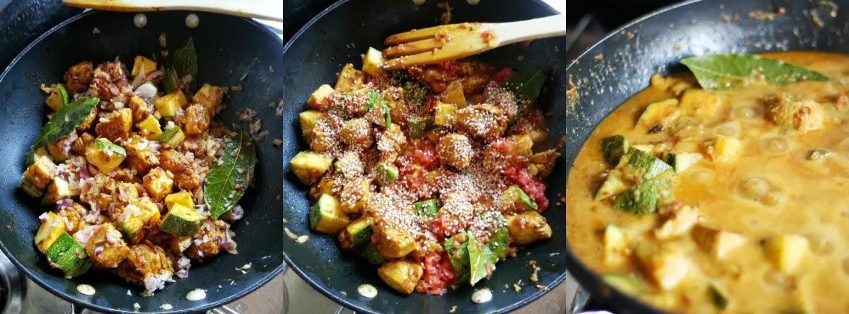 fasi preparazione curry
