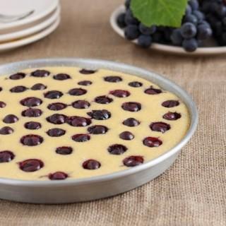 Dolce al semolino e uva fragola… per merenda?