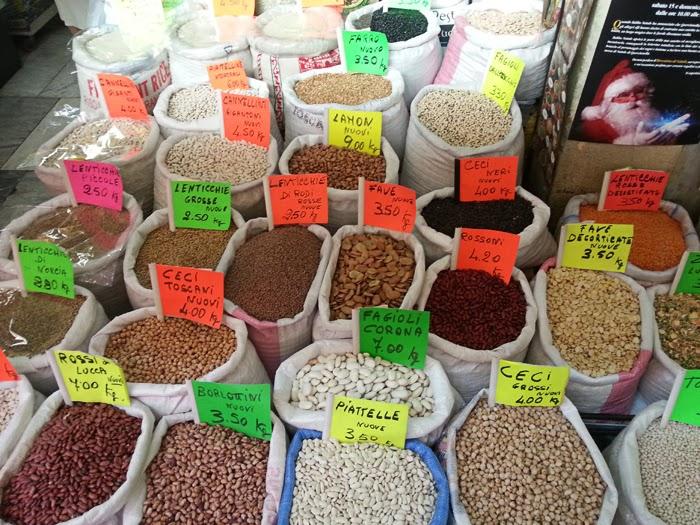 legumi mercato livorno