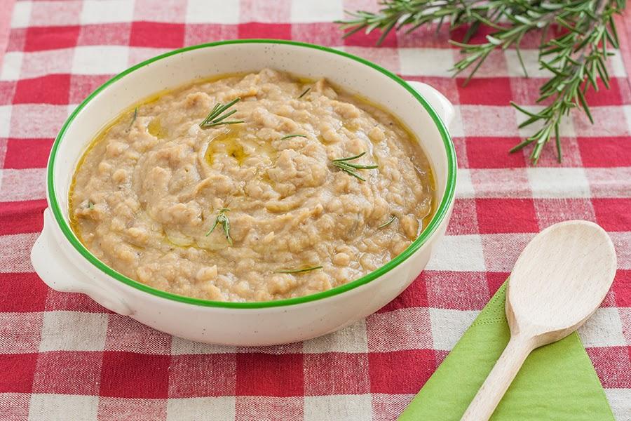 zuppa cicerchie e farro dop