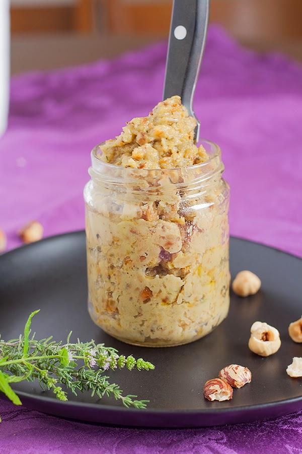 Auberginen-Dip-Rezept mit Haselnüssen