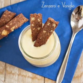 Crema leggera allo zenzero e vaniglia