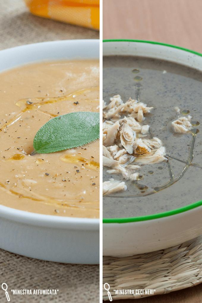 ricette minestre ceci