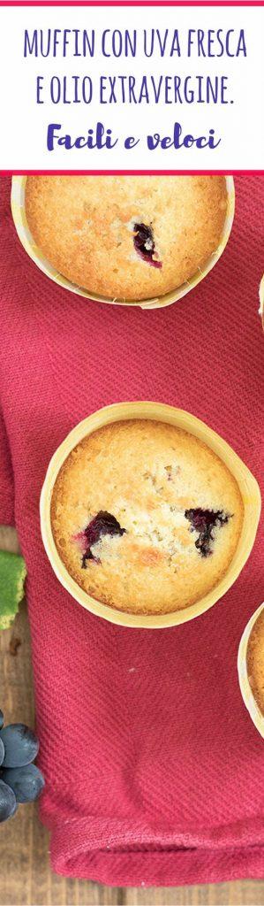 muffin uva olio