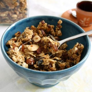 Muesli personalizzato a colazione