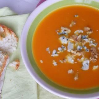 zuppa zucca roquefort