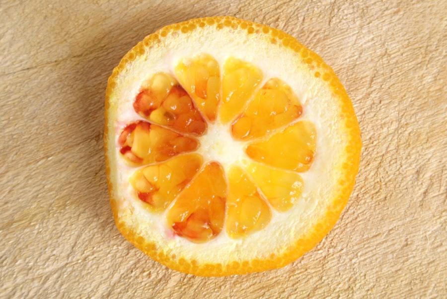semplicità frutto arancia