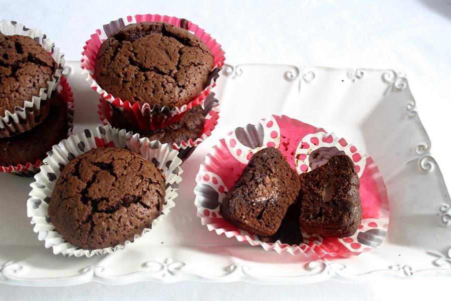 ricetta muffin gianduia