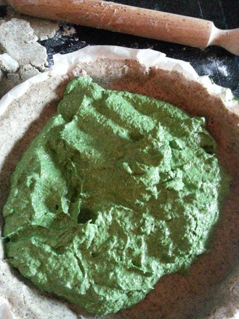 ripieno crostata rustica grano saraceno