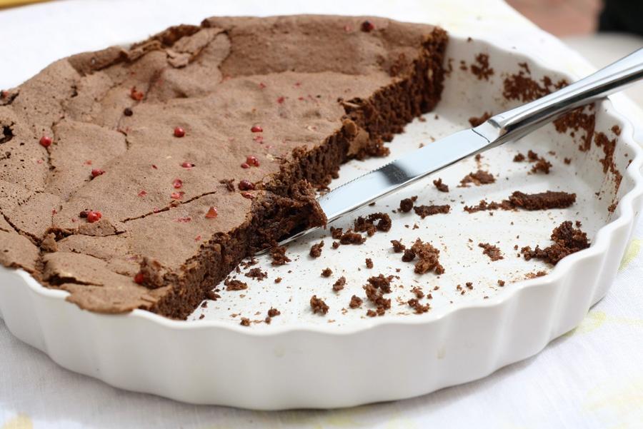 torta cioccolato pepe