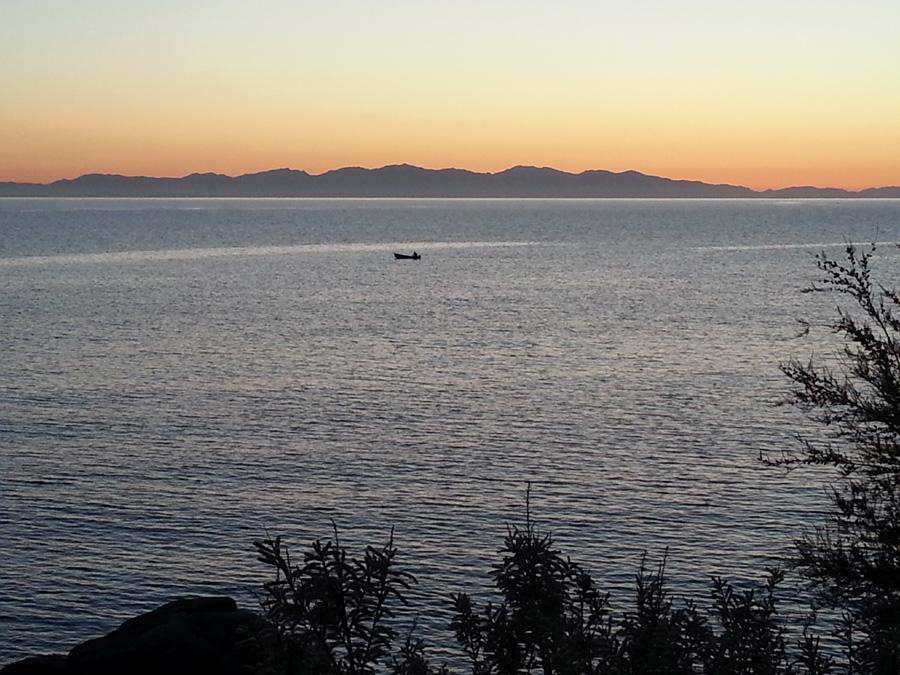 tramonto da pomonte