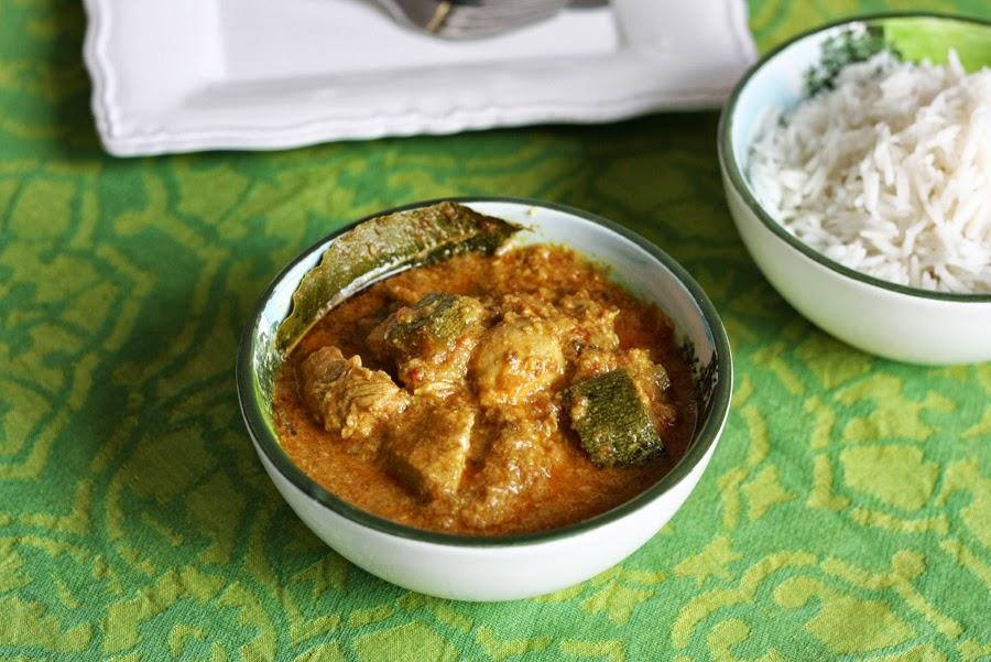 Curry estivo con zucchine