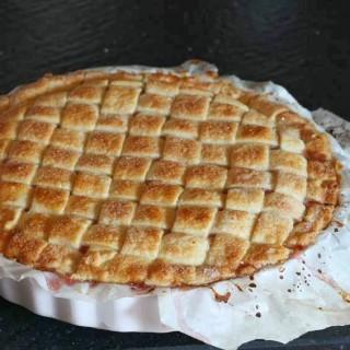 """Il tempo dei fichi: Crostata ripiena di fichi o la """"sweet pie"""""""