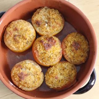 Pomodori ripieni di riso à la (nonna) toscana