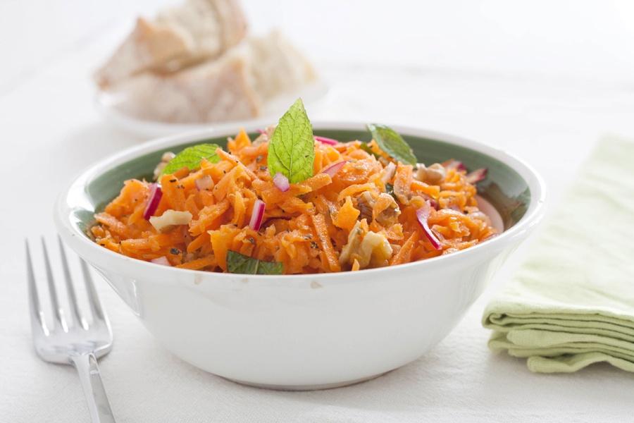 insalata croccante carote