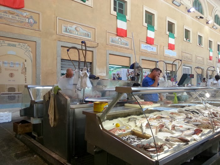 banco pesce mercato livorno
