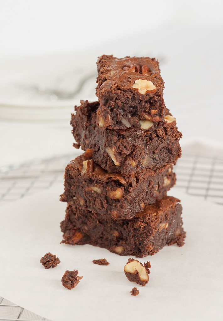 brownies fondenti farina integrale