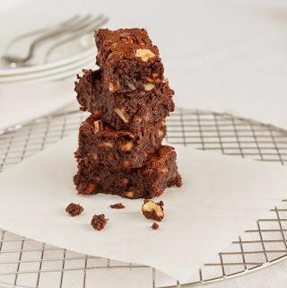 brownies con farina integrale