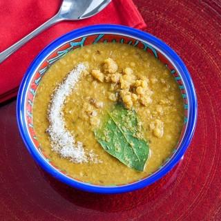 minestra indiana ceci