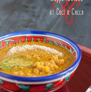 zuppa indiana ceci cocco