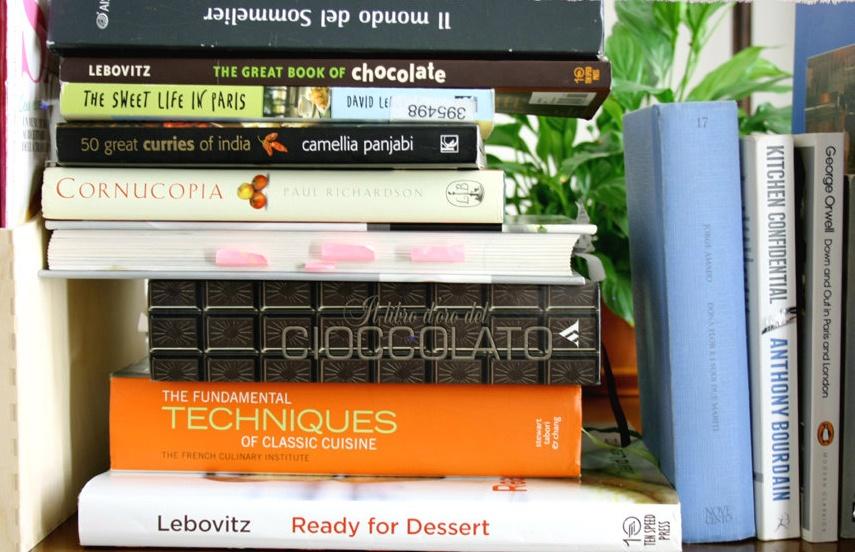 Bücher über Essen und Kochen