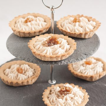 crostata mousse marroni
