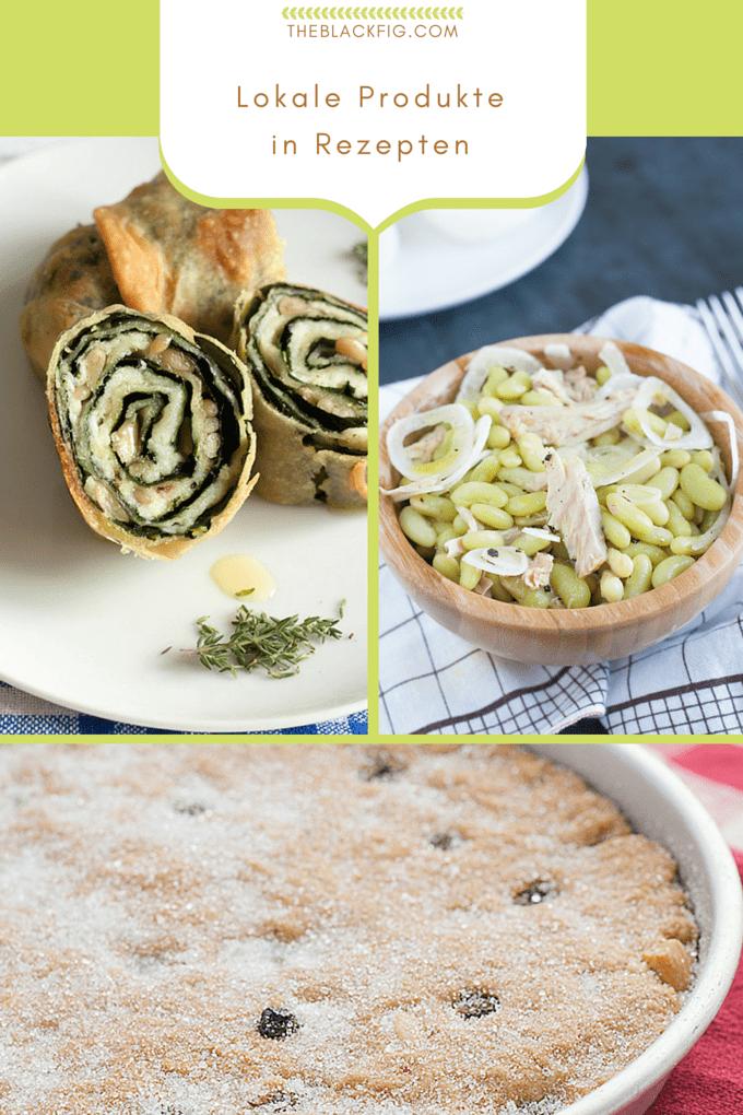 Kochen mit lokalen Produkten Italiens