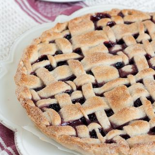 crostata di more selvatiche