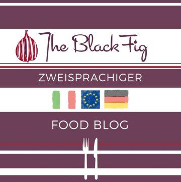 Zweisprachige Food Blog italienisch deutsch