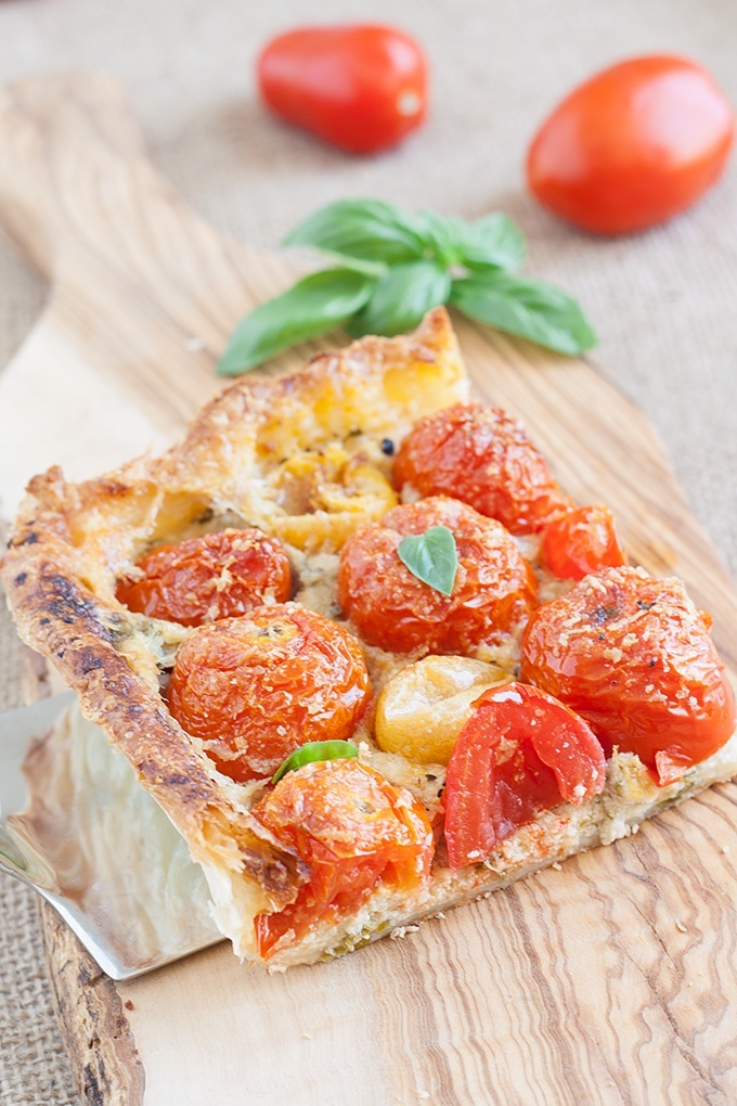 torta pomodori ricotta