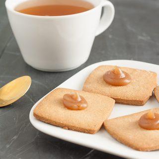 Biscotti alle castagne al quadrato