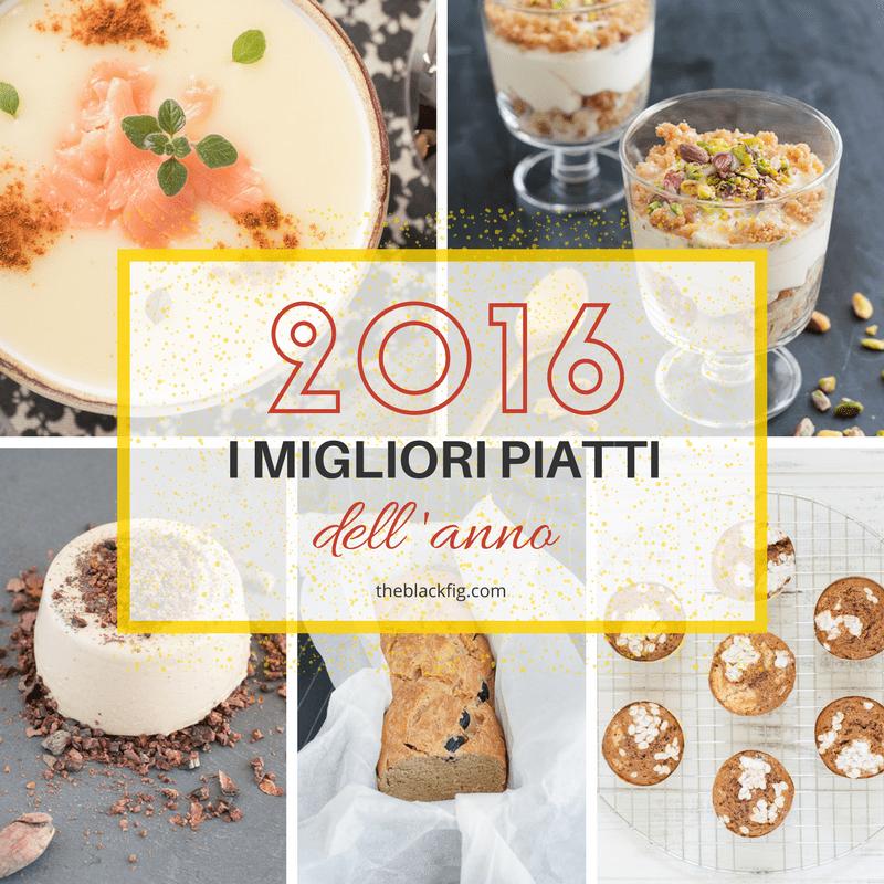 i migliori piatti del 2016