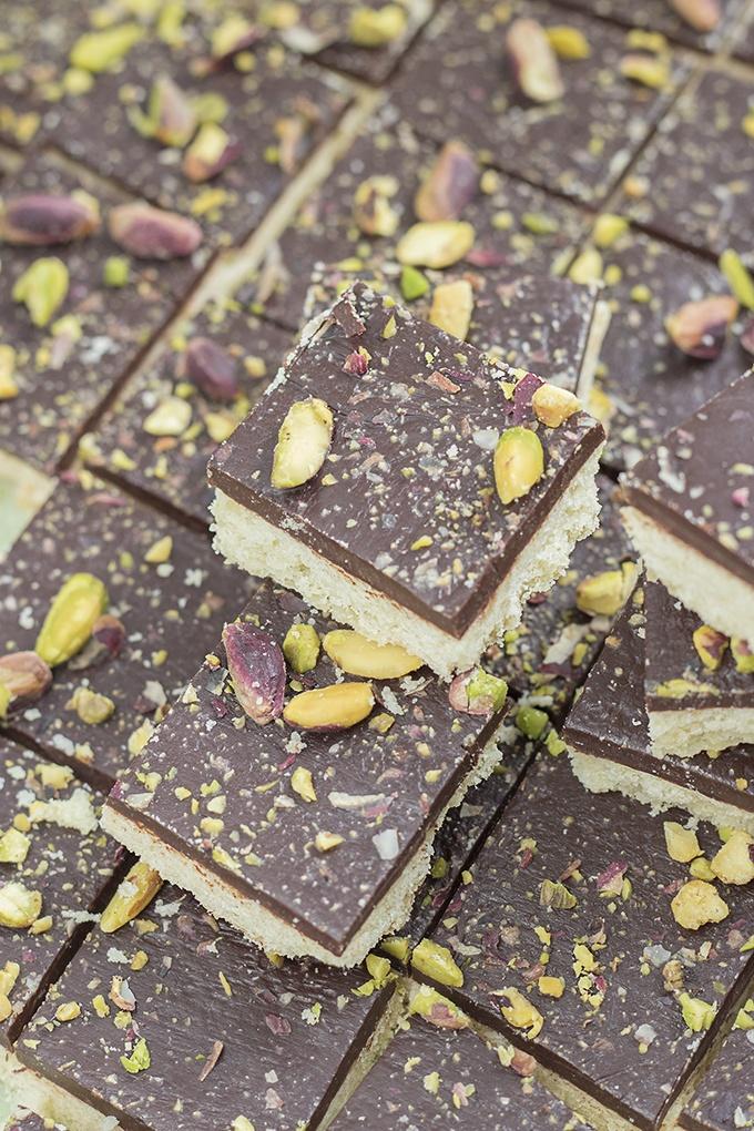 ricetta biscotti cioccolato e pistacchi