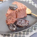 Torta al cioccolato con prugne e Vinsanto
