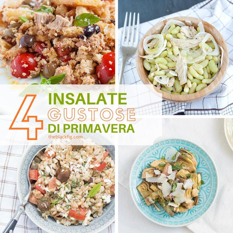 Ricette di insalate particolari e sfiziose