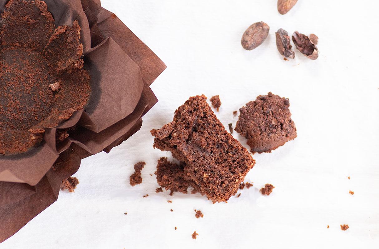 muffin cioccolato fave cacao