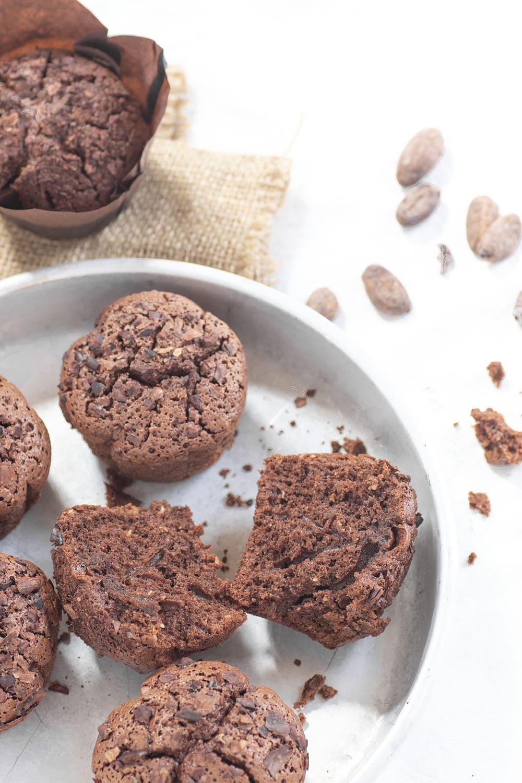 ricetta muffin cioccolato cocco fave