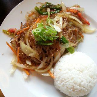 cucina coreana e vino