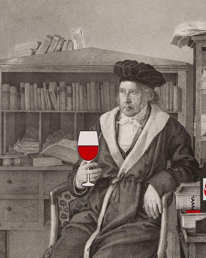 cosa beveva hegel vino