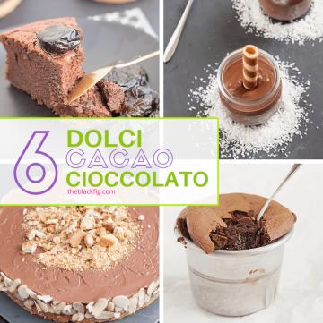ricette con cioccolato e cacao