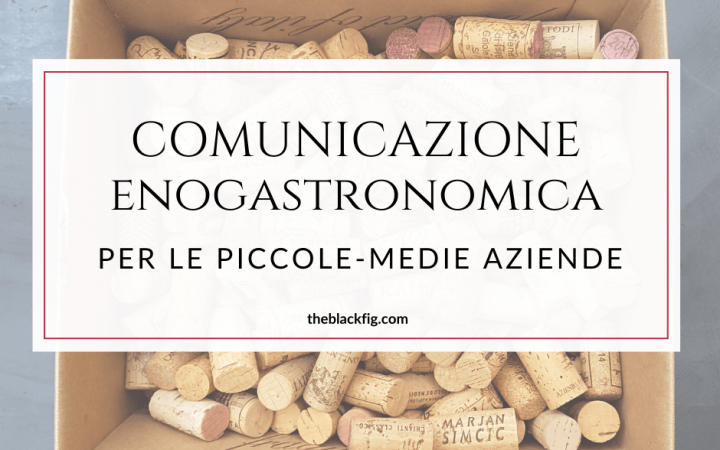 comunicazione food and wine