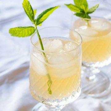 bibita di limone e zenzero
