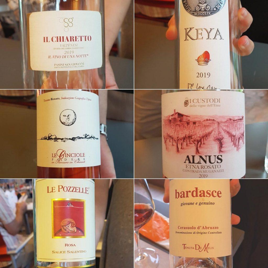 migliori vini rosati Italia