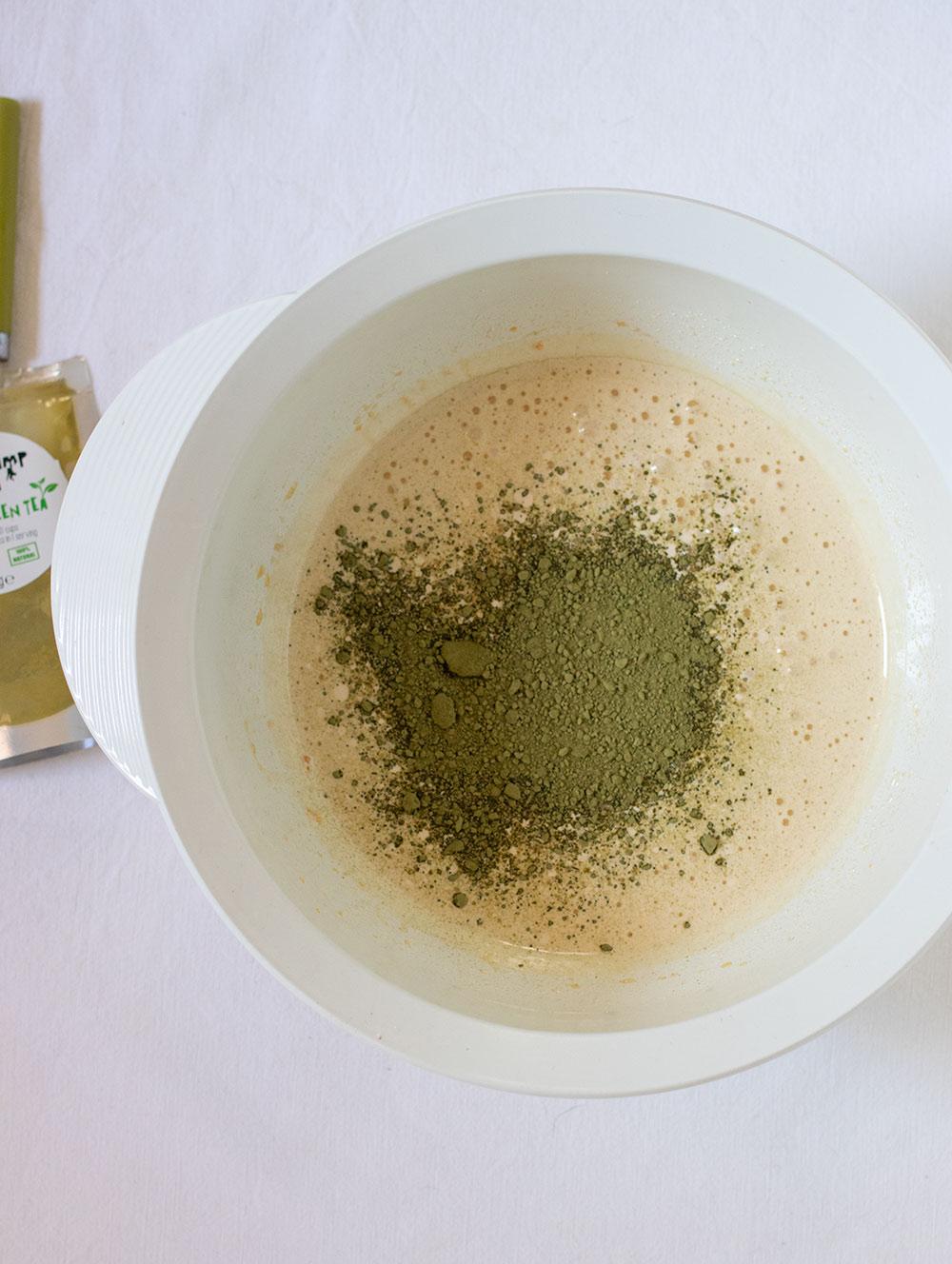 ricetta muffin al tè verde